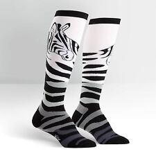 Sock It To Me Women's Knee High Socks - Zebra