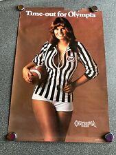Vintage Olympia Beer Poster