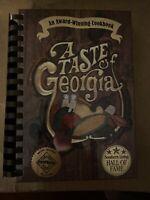 NEWNAN GA JUNIOR SERVICE LEAGUE 'A TASTE OF GEORGIA' COOKBOOK 1977