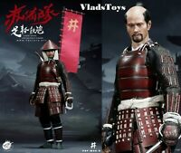 PopToys 1/6 Scale Ashigaru Teppo Deluxe Version Japanese Foot Soldier W06B USA