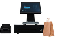 EPOS Touchscreen Till System Cash Register for Retail or Restaurant Takeaways