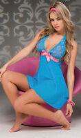 Sexy Lingerie Nightwear Underwear Ladies Sleepwear Babydoll Lace Dress M XL 2XL