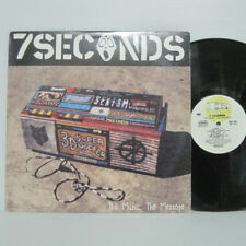 7 Seconds ‎– The Music, The Message LP 1995 US ORIG Revelation YOUTH OF TODAY