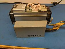 Lot of 2 Bitmain Antminer S9 13th with apw3++psu bitcoin miner.