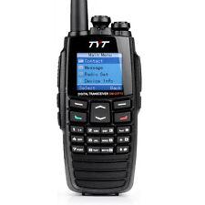 NEW TYT 256CH DM-UVF10 DTMF Digital VHF/UHF 2 Way Radio Walkie Talkie+Cable+MIC