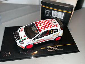 RALLY 1/43 IXO SELENIA FIAT PUNTO S2000 NIGHT VERSION BASSO MONTE CARLO 2009
