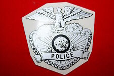 CALIFORNIA HIGHWAY PATROL POLICE MOTORCYCLE HAT DECAL STICKER BADGE