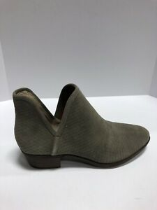 Lucky Brand Baley Womens Bootie Brindle Suede US11 M