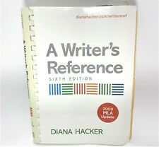 A Writer's Reference by Hacker, Diana, 2009 MLA Update Bedford Books