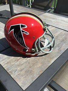 Tommy Nobis Full Size Vintage 1966 Replica RK Atlanta Falcons Helmet