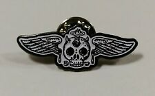 David Welker 'Winged Skully' rare sold out enamel pin