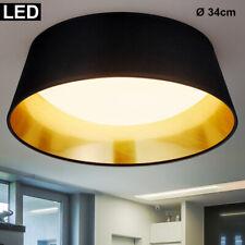 Design Pendel Hänge Leuchte rund Wohnzimmer Treppenhaus farbig Textil 1xE27 Flur