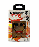 Skulcandy Smokin Bud 2 In-Ear Headphones, In-Line Mic - Spaced Out Clear, Orange