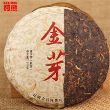 100g China Puer tea cooked tea green shoots gold green food healthy Pu erh tea