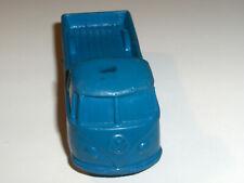 FURGONE IN GOMMA Volkswagen CON CASSONE USATO VINTAGE ANNI 70 CON SEGNI TEMPO