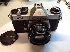Pentax KX 35mm SLR Film Camera with 50 mm F 1.7 lens Kit