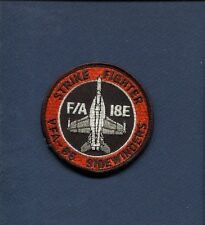 VFA-86 SIDEWINDERS US NAVY F-18 SUPER HORNET Fighter Squadron Patch