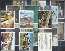 GRAIN PRODUCTS (NZ)-FULL SET- OUR MIGHTY FORESTS (L20 CARDS) - EXC