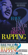 HAVE YOU EVER SEEN A DREAM RAPPING ADVERTISING COLOUR POSTCARD
