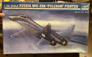 Trumpeter 1/32 02239 Russia MIG-29K Fulcrum Fight model kit. Factory Sealed Box!