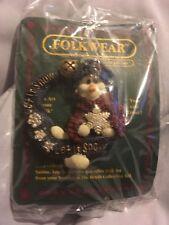 Boyds Bears 1998 ~ Axel.Let It Snow ~ Folkwear Pin Style #26317