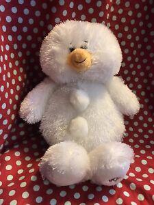 "Ganz Webkinz Snowman Plush 10"" Stuffed Animal Toy HM370"