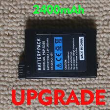 Deals 2pcs 3.7V 2400mAh Li-ion Battery  PSP-S110 For Sony PSP 2006 3000 3006