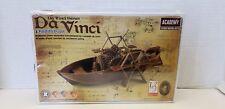 Academy Paddle boat Da Vinci Machines Series Plastic Diorama Kit #18130