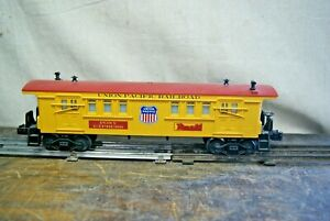 "Lionel Union Pacific ""Pony Express"" Baggage Car 6-15166  -  See Description"