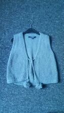 French Connection Ladies Wool/Rabbit hair Waistcoat/cardigan Size M