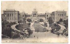 marseille , ensemble du palais de longchamp -