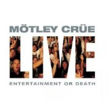 Live: Entertainment or Death [Clean] [PA] by Mötley Crüe (CD, Nov-1999, 2 Discs,