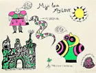 Niki de Saint Phalle, My Love, My Love, Screenprint, signed and numbered in penc