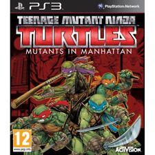 TMNT Teenage Mutant Ninja Turtles Mutants in Manhattan PS3 Game