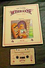 TALKING MOTHER GOOSE BOOK/TAPE RAPUNZEL WORLDS OF WONDER WORKING
