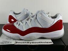 Nike Air Jordan 11 Low Cherry Red Size 9.5 Receipt XI White Varsity 528895-102