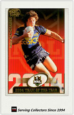 2005 Select NRL Power Cards Team Of The Year TY7 Nathan Hindmarsh (Eels)