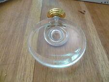 JADO ORIENTAL Seifenschale komplett CHROM-GOLD Ausstellungsstück
