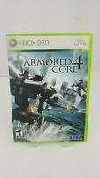 Armored Core 4 (Microsoft Xbox 360, 2007) Complete