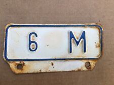Vintage Kansas License Plate Topper 6M Truck Ford Dodge Chevy International 3