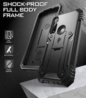 Poetic Shockproof For Moto G Power 2020 Case,Full Coverage Cover Black