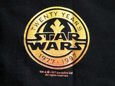 STAR WARS INSIDER MEMBER 20 YEAR 1977-1997 T SHIRT Sz Lg USA made RARE!!! EXC+++