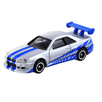 Takara Tomy Dream Tomica 150 No.150 Fast&Furious BNR34 Skyline GT-R