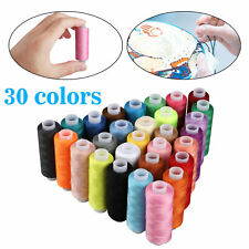 Polyester Sewing Thread Spools Set For Sewing Machine Line 30 Colors 250 Yards