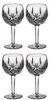 Waterford LISMORE Balloon Wine Glass 8oz (4) Four Glasses New #156516