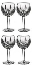 Waterford LISMORE Balloon Wine Glass 8oz (4) Four Glasses New #156516