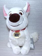 "Disney Store Bolt the Superdog Sitting Dog Toy 12"" Stuffed Plush Medium"