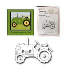 Tractor metal die cut - Frantic Stampers Cutting Dies farm vehicle FRA-DIE-09980
