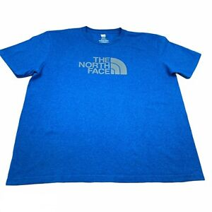 The North Face Tee Blue Size Extra Large