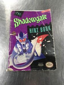 Shadowgate Hint Book Instruction Manual Booklet Nintendo NES